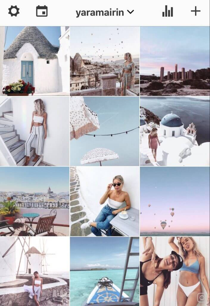 how to style instagram feed