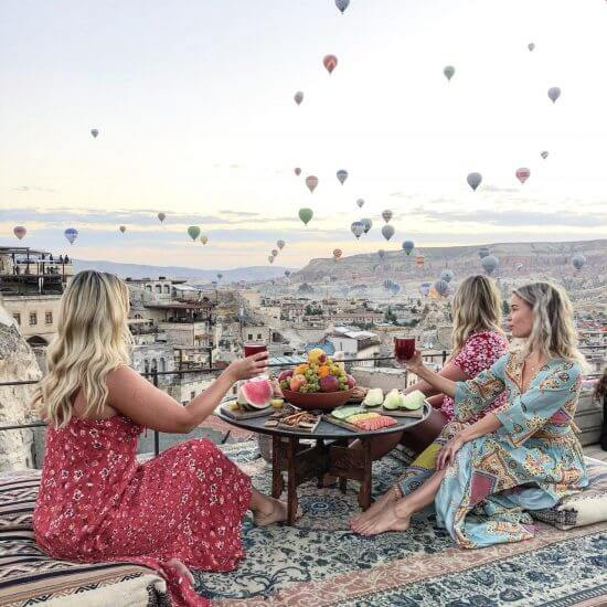 Instagram hotspots Cappadocia