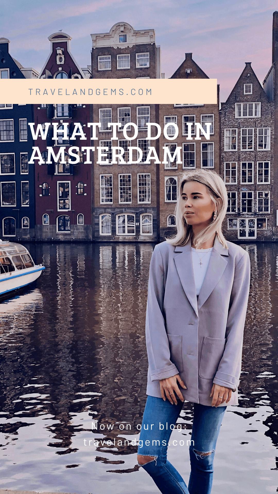 Pinterest Amsterdam - Travel & Gems