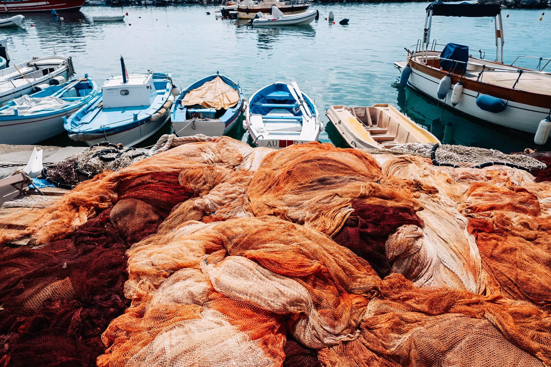 Fishing nets Procida - Travel & Gems