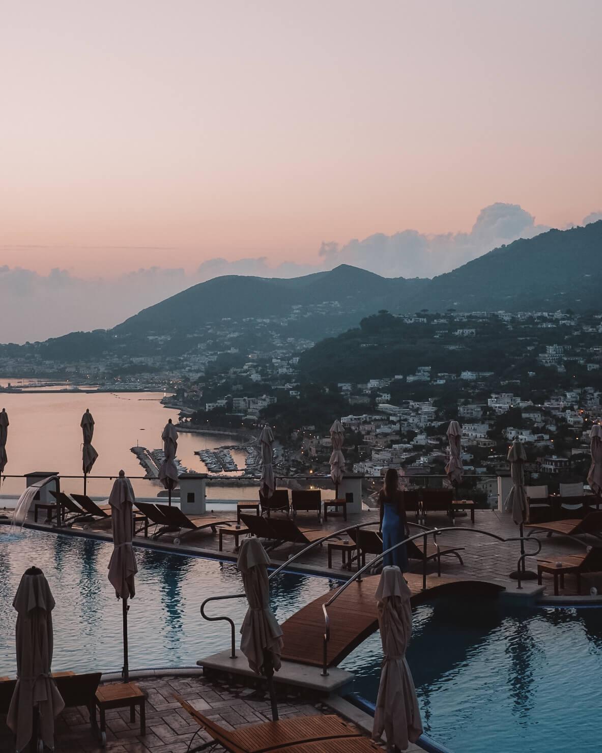 Sunrise San Montano Ischia Italy
