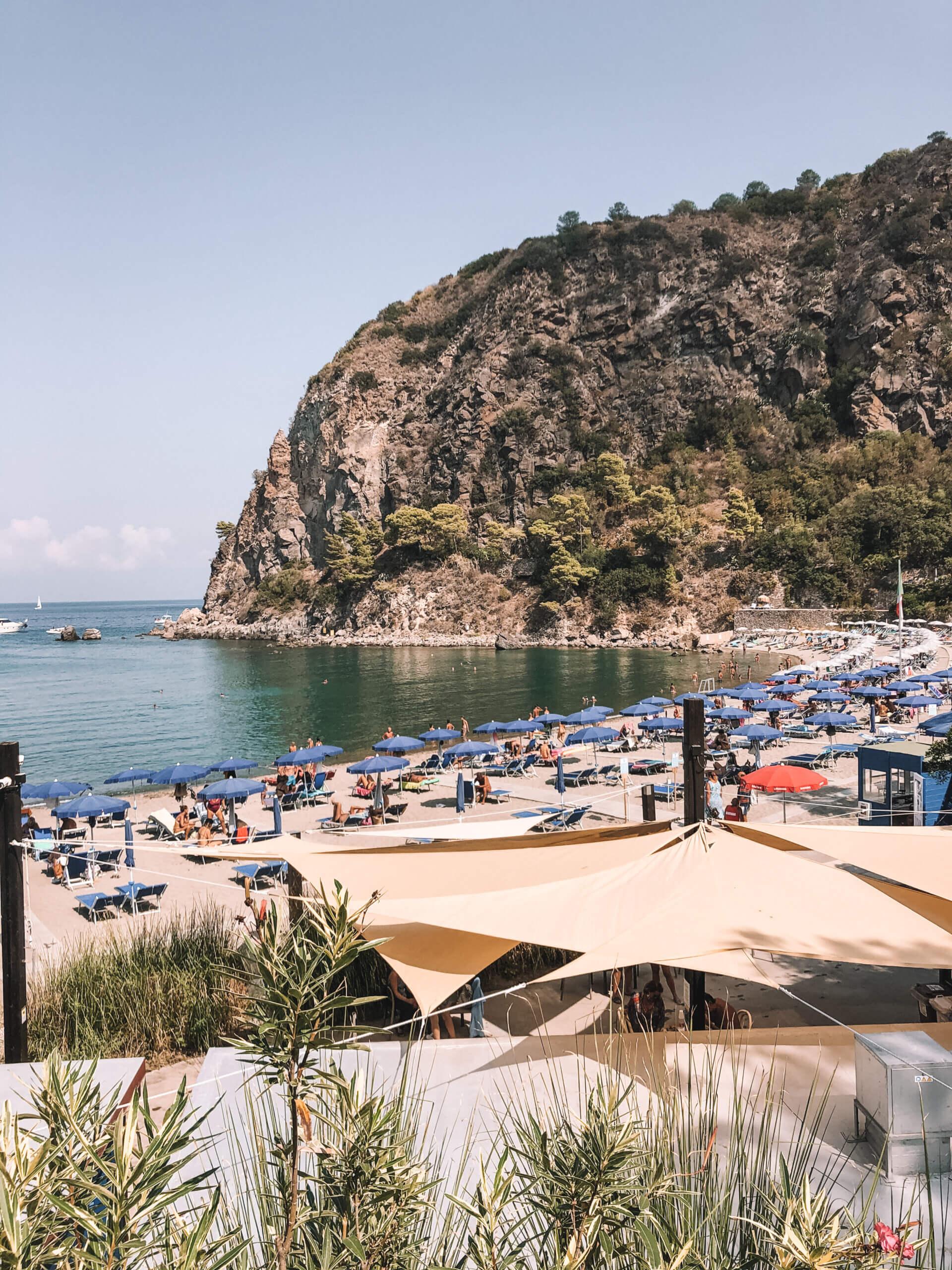 Bay of San Montano Ischia Italy