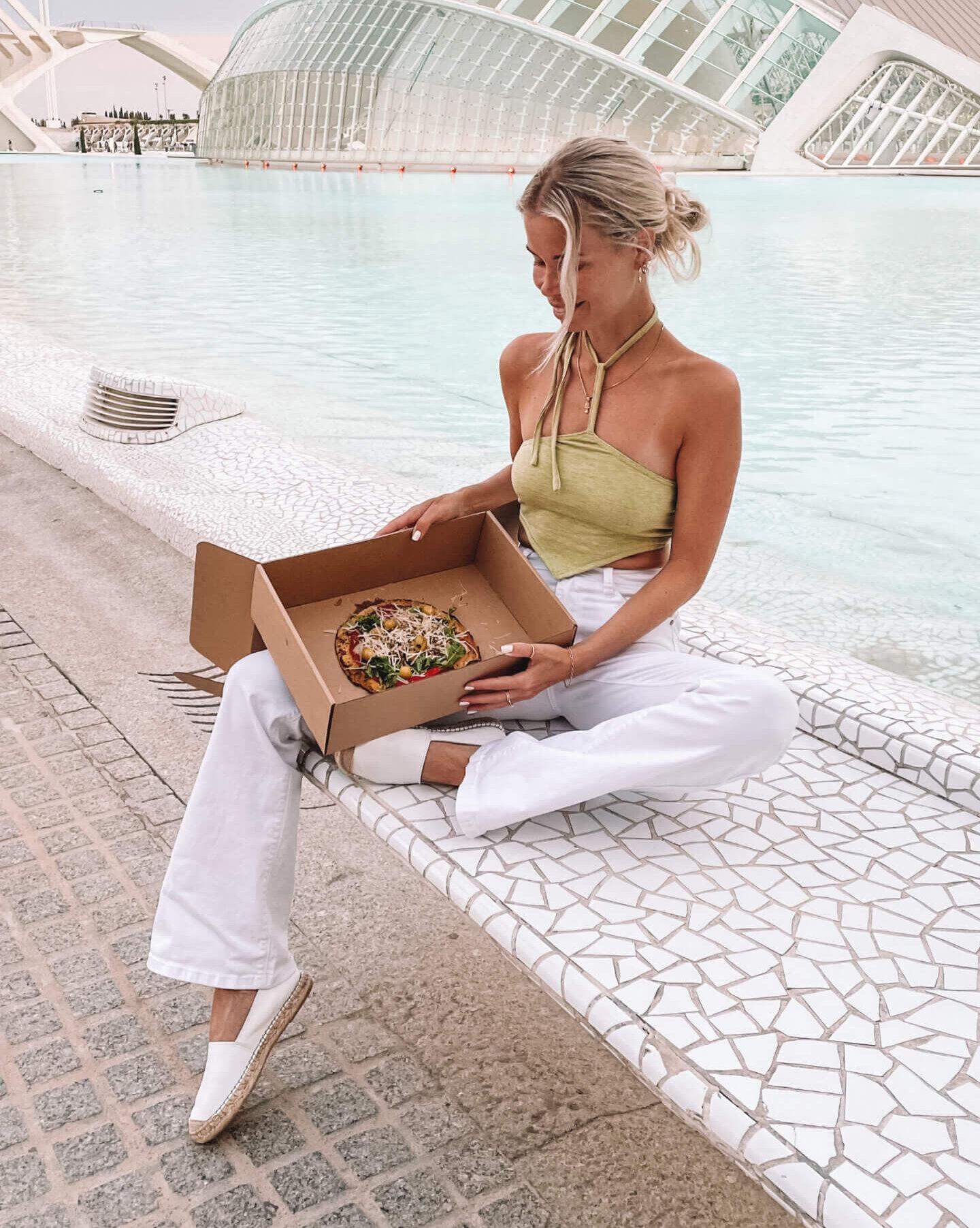 Glutenvrije pizza Valencia